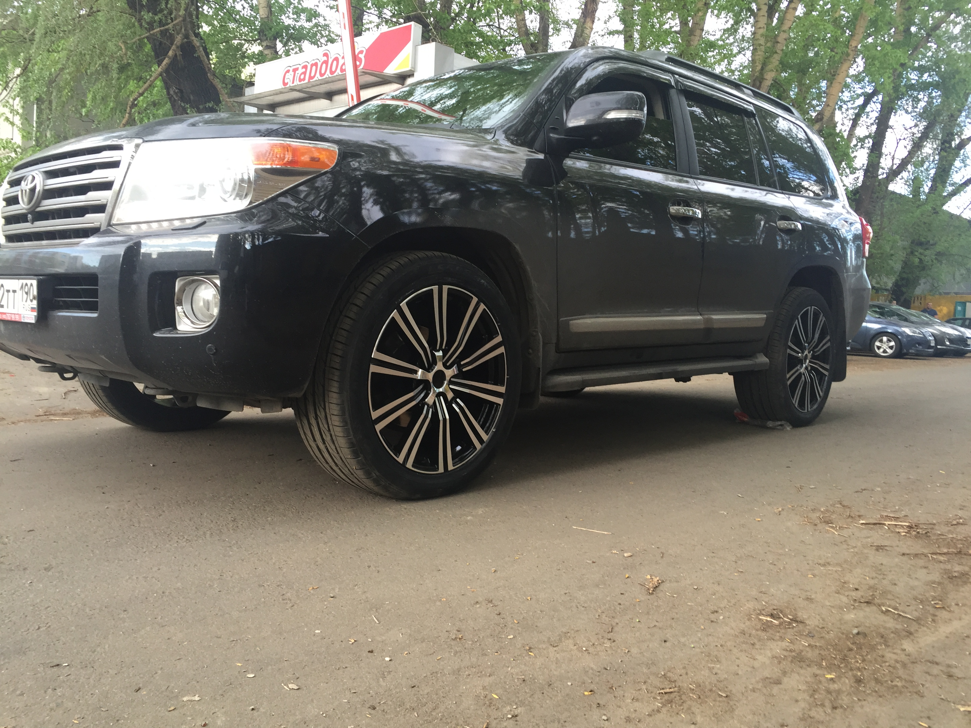 Диски R20 для Toyota Land Cruiser 200